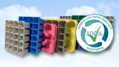 M-plastics introduceert nieuw merk voor de tuinbouw en CYCLOS-HTP gecertificeerde trays en packs - M-plastics